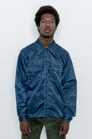 paa - Rodeo Shirt - Navy Nylon Twill