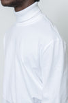 paa - LS Turtleneck Tee - White