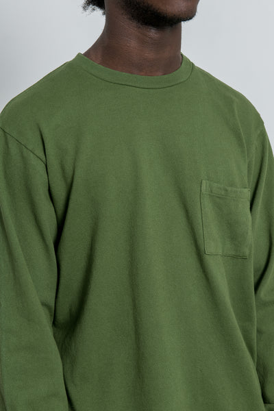 paa - LS Pocket Tee - Moss