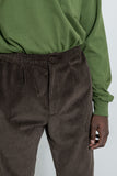 paa - Wide Wale Trouser - Brown Corduroy