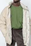 paa - 60/40 Puft Jacket - Light Khaki Grosgrain