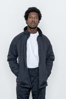 paa - Warm Up Jacket - Black Nylon Tussah