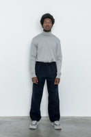 paa - LS Turtleneck Tee - Heather Grey