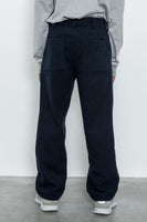 paa - Double Pleat Pant - Navy Melton