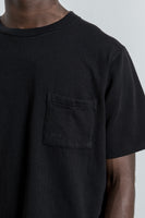 paa - SS Pocket Tee - Black Embroidery