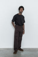 paa - Double Pleat Pant - Brown Chamois