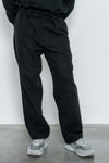 paa - Double Pleat Pant - Charcoal Melton