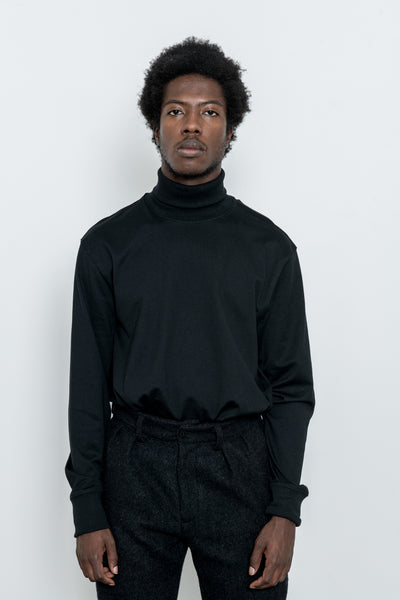 paa - LS Turtleneck Tee - Black