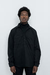 paa - LS Popover Shirt Two - Black Polar Fleece