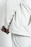 paa - Warm Up Jacket - Ecru Nylon Tussah