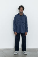 paa - LS Popover Shirt Two - Navy Polar Fleece