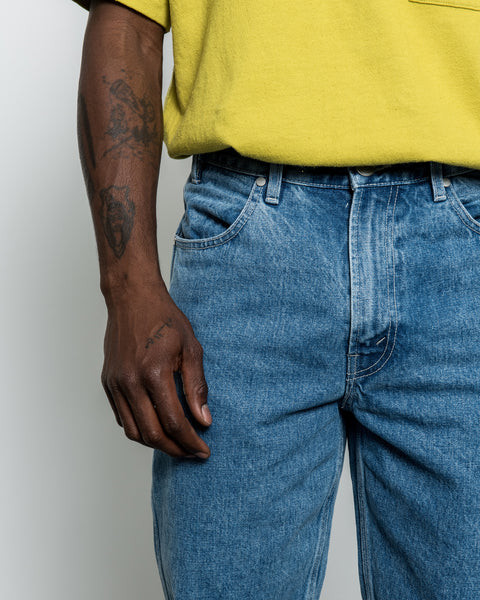 Four Pocket Denim Jean - Light Wash