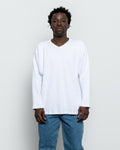 Thermal Football Sweatshirt - White
