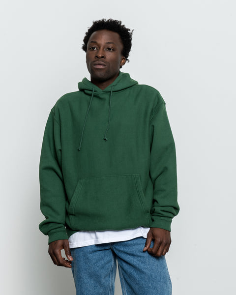 Hooded Pullover Sweatshirt - Verte