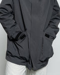 Parka One - Charcoal Grosgrain