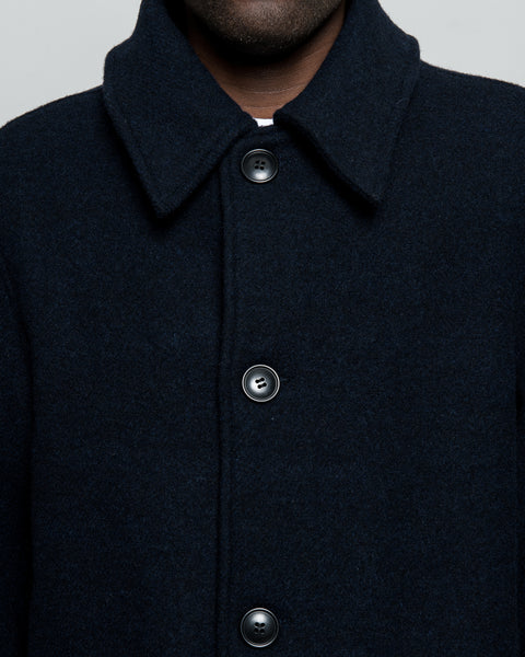 Trench Coat 2.5 - Navy Double Face Melton