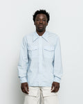 Rodeo Shirt - Soft Blue Typewriter Cloth