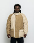 60/40 Puft Jacket - Khaki Block Grosgrain