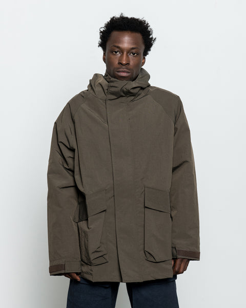 Parka One - Olive Grosgrain