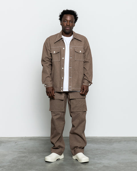 Utility Pant - Brown Sun Dried Canvas