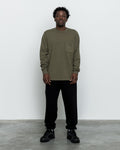 LS Pocket Tee - Deep Olive