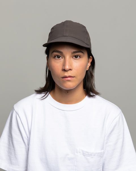 Stretch Floppy Ball Cap - Charcoal Micro Ripstop
