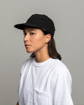 Stretch Floppy Ball Cap - Black Micro Ripstop