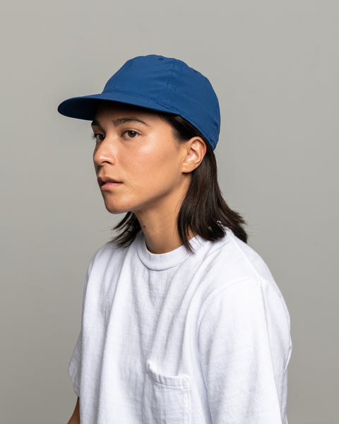 Stretch Floppy Ball Cap - Blue Micro Ripstop