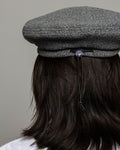 Beret - Grey Polar Fleece
