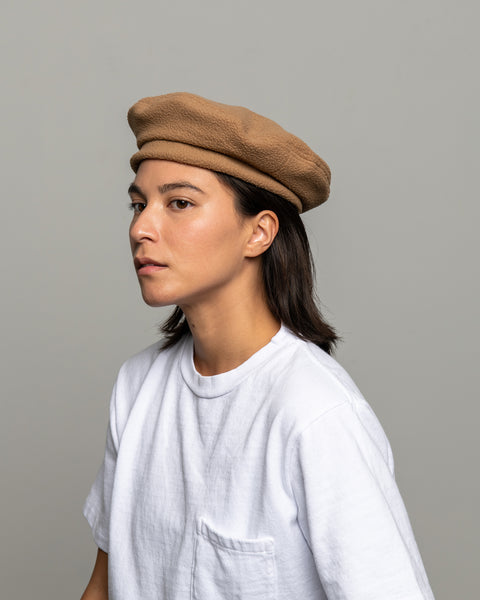 Beret - Camel Polar Fleece