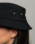 Bucket Hat One - Black Jumbo Ripstop