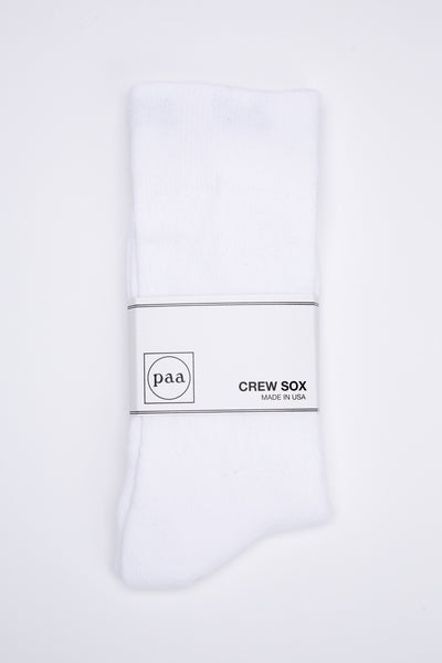 Recycled Crew Sox 2.5 - White - paa