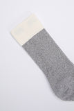 paa - Recycled Crew Sox 2.5 - Heather Grey / Ecru