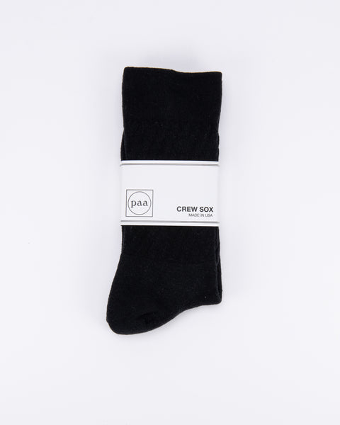 Recycled Crew Sox 2.5 - Black