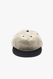paa - Pleat Cap - Khaki / Black