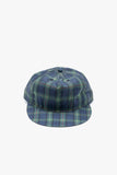 paa - Pleat Cap - Navy Tartan
