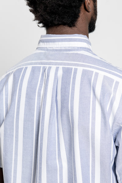 paa - SS Shirt One - Blue Stripe Oxford