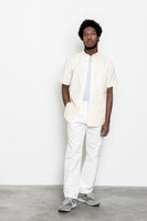 paa - SS Shirt One - Pale Yellow Oxford