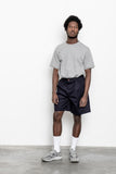 paa - Double Pleat Shorts - Navy