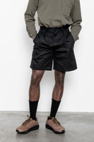 paa - Double Pleat Shorts - Black