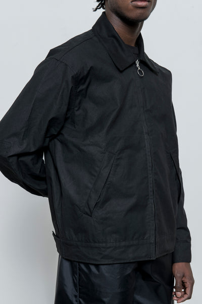 paa - Big Rig Jacket - Black Waxed Cotton
