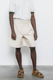 paa - Double Pleat Short - Natural Canvas