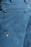 Four Pocket Denim Jean - Light Wash - paa