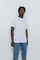 paa - SS Tee Two - Golden NOGO Smile Print