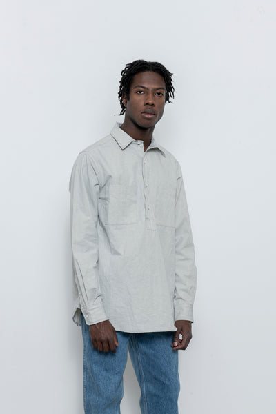 paa - LS Popover Shirt Two - Cloud