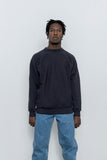 Crewneck Sweatshirt Two - Navy - paa