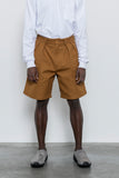 paa - Double Pleat Short - Rust Canvas