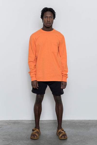 paa - LS Pocket Tee - Blaze Orange