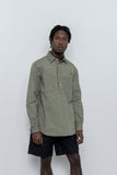paa - LS Popover Shirt Two - Sage