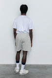 Sweatshorts - Heather Grey - paa